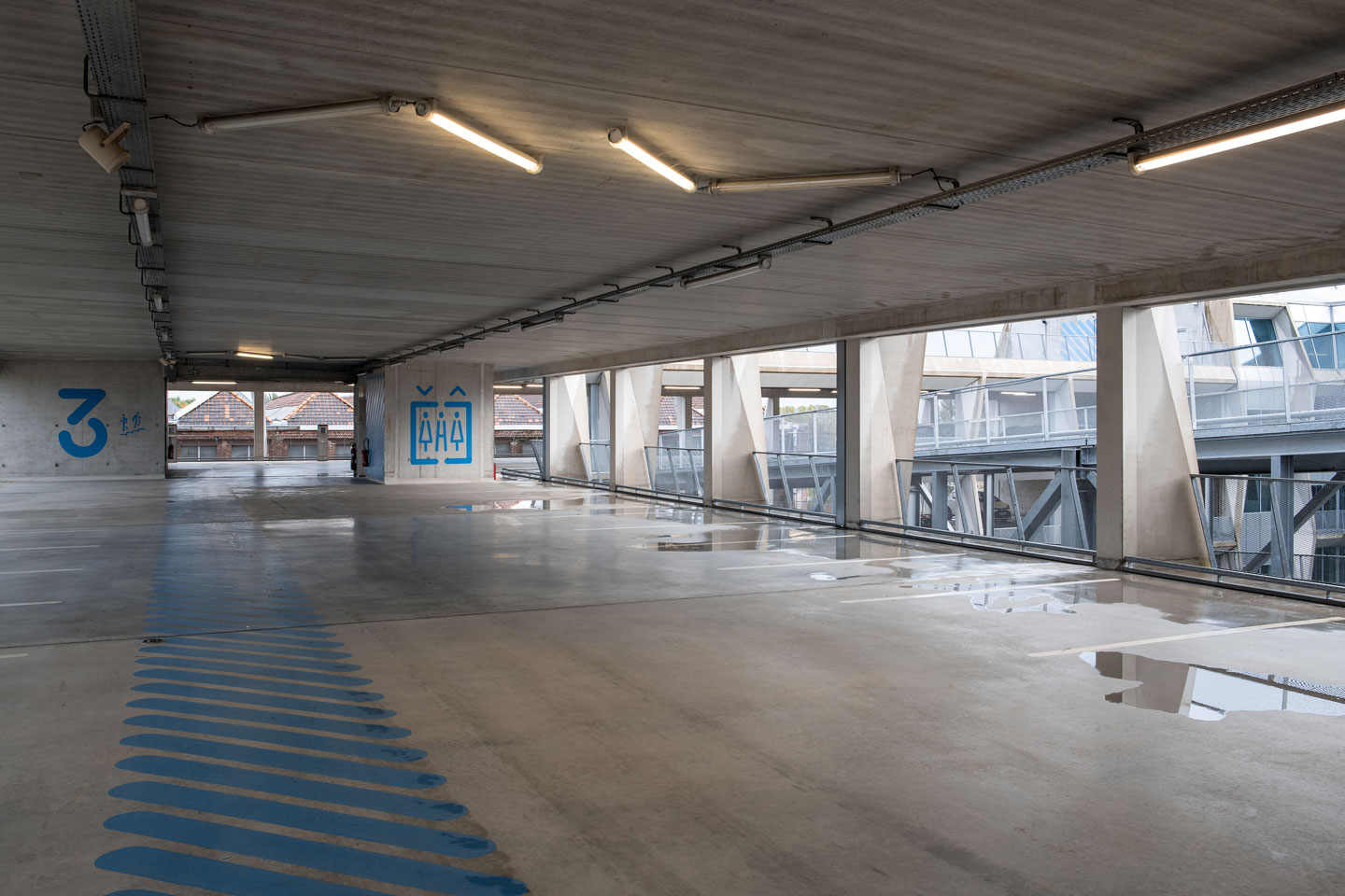 photo parking roubaix tourcoing